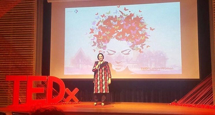In 2015, she spoke at TEDx Lahore on the importance of a healthy lifestyle for the young.