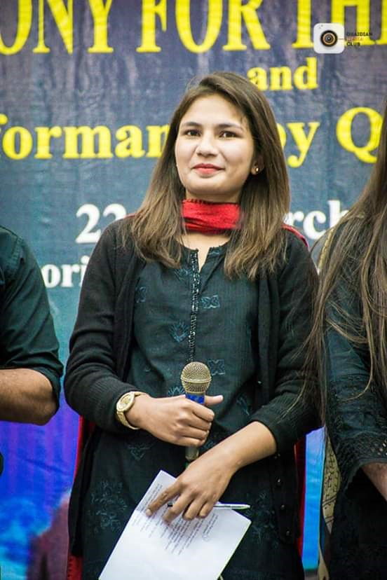 Rubab Raza is a Ph.D. research student at QAU