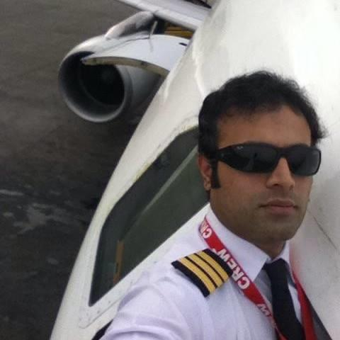 Captain Jahanzeb is a first officer in Pakistan International Airlines (PIA)