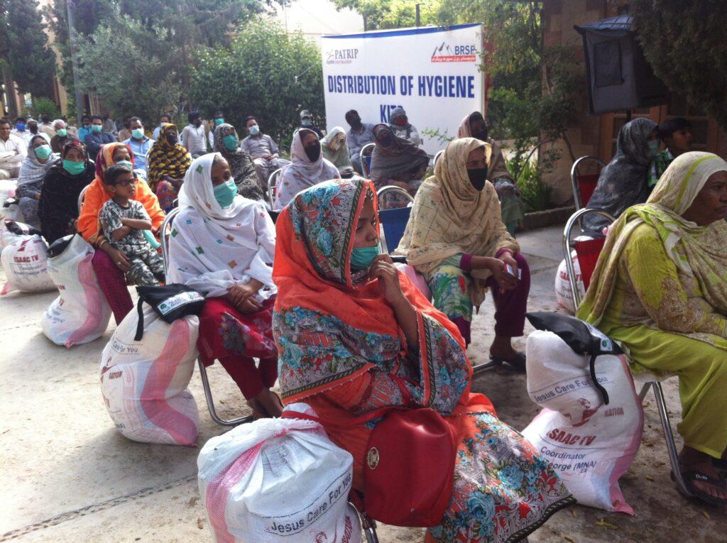 Hygiene distribution kit ceremony organized  by BRSP