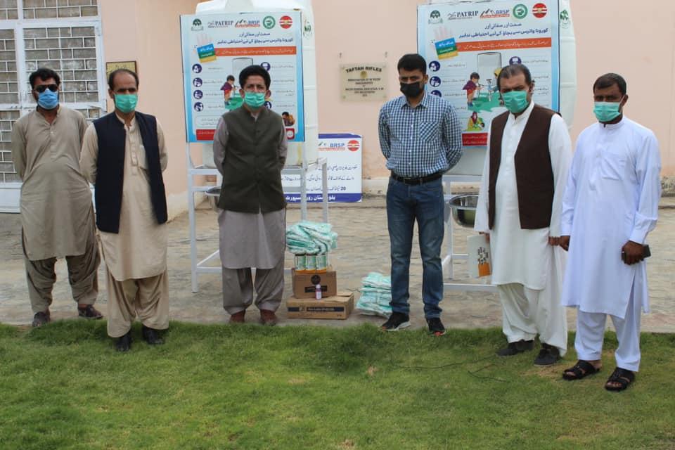 The proud team of BRSP, Baluchistan