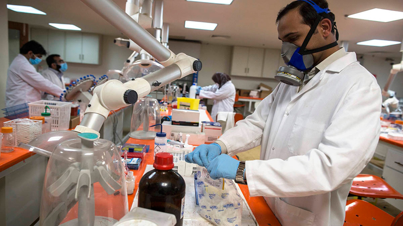 In many well-established laboratories like DDRRL and Agha Khan Labortories, most of the work is automated.