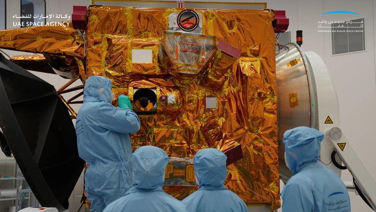 Mars spacecraft by UAE