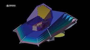14Model of Origin Space Telescope