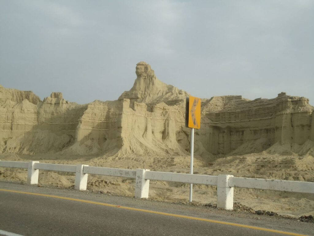 A view of the Baluchistan Sphinx. Credits: Saadeqa Khan