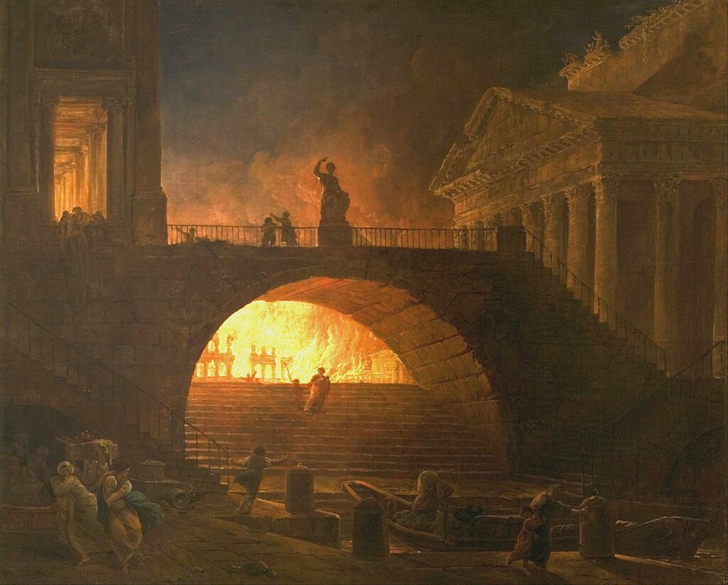 Nero and the Fire of Rome