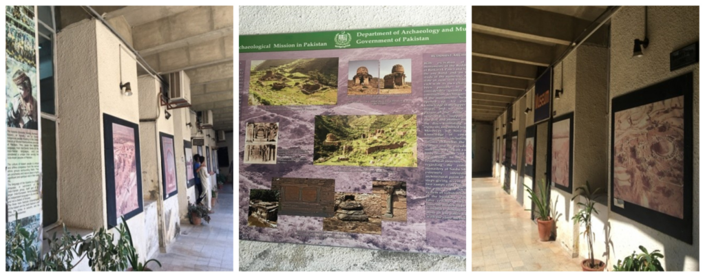 The walls at TIAC are bursting with colourful and informative posters on Archaeology. One does get lost in the details while wandering about.