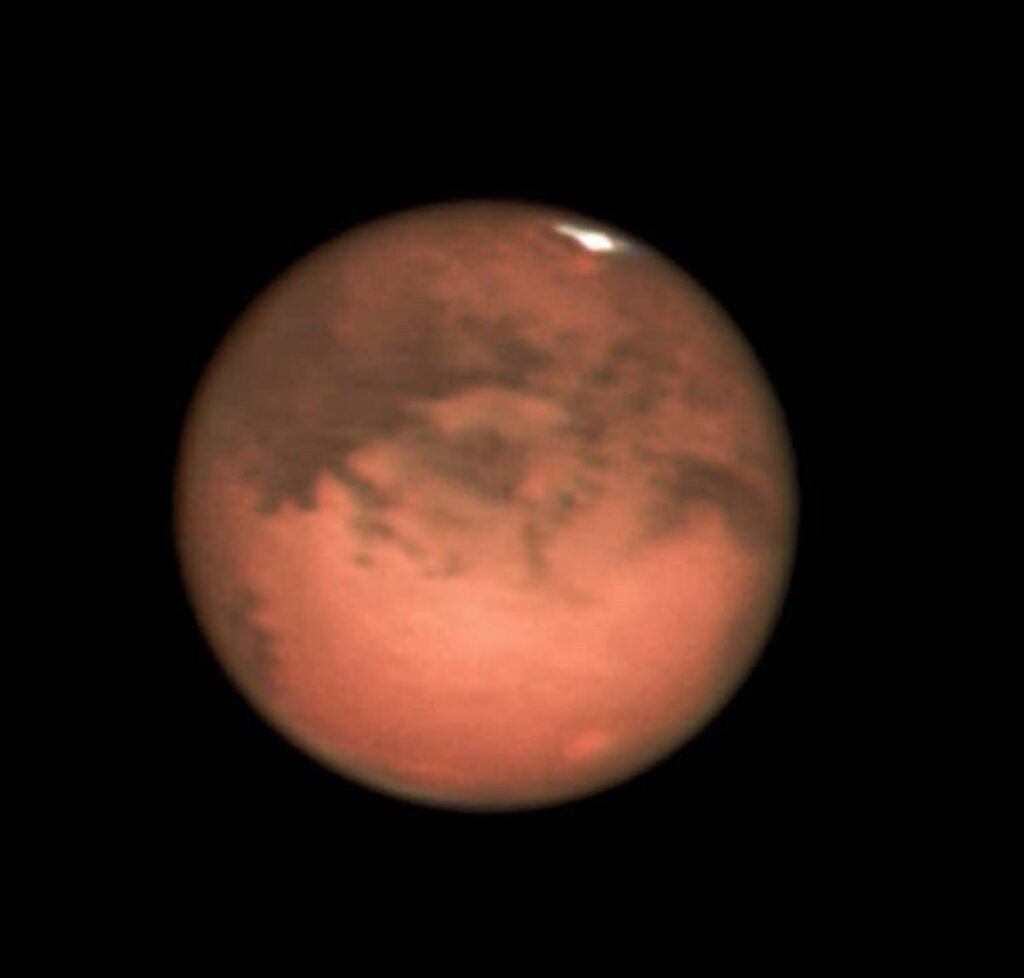 Planet Mars by Muhammad Ali, taken in Lahore