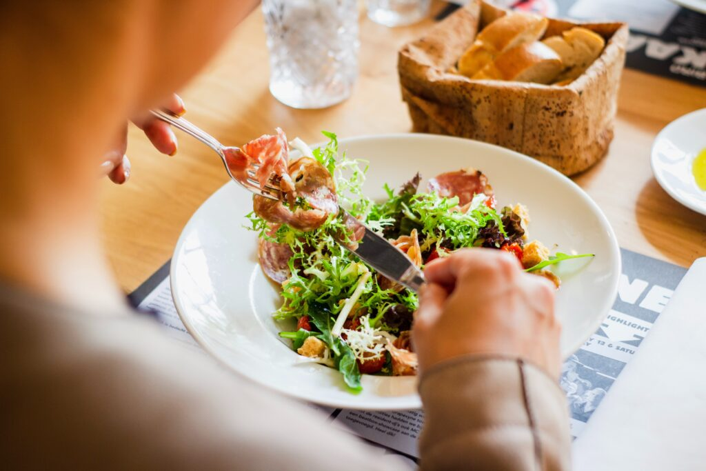 Diet or dieting is usually used for restrictive diets and the most drastic eating habits to achieve weight loss targets