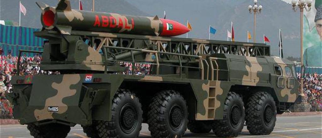 Hatf-2, Abdali.Copy right to ISPR