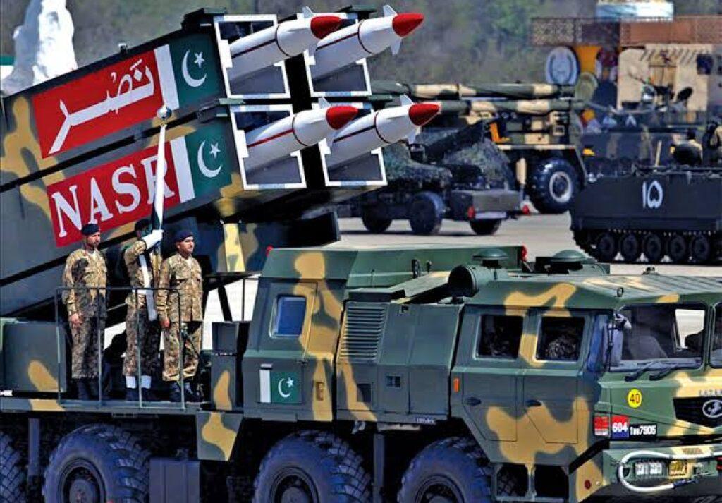 Hatf-9, Nasr missile. Copyright to ISPR