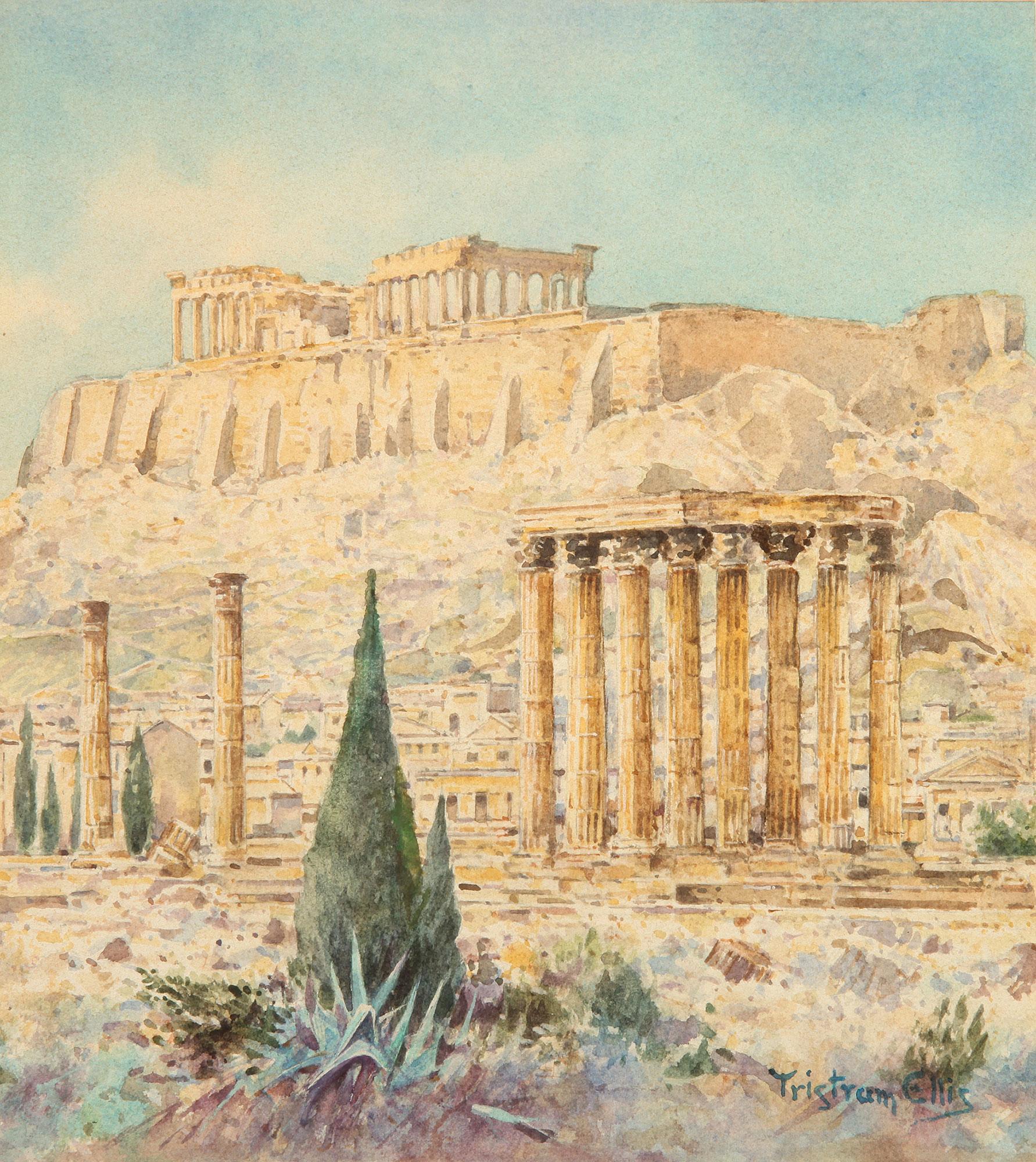 Tristram Ellis - A view of the Acropolis