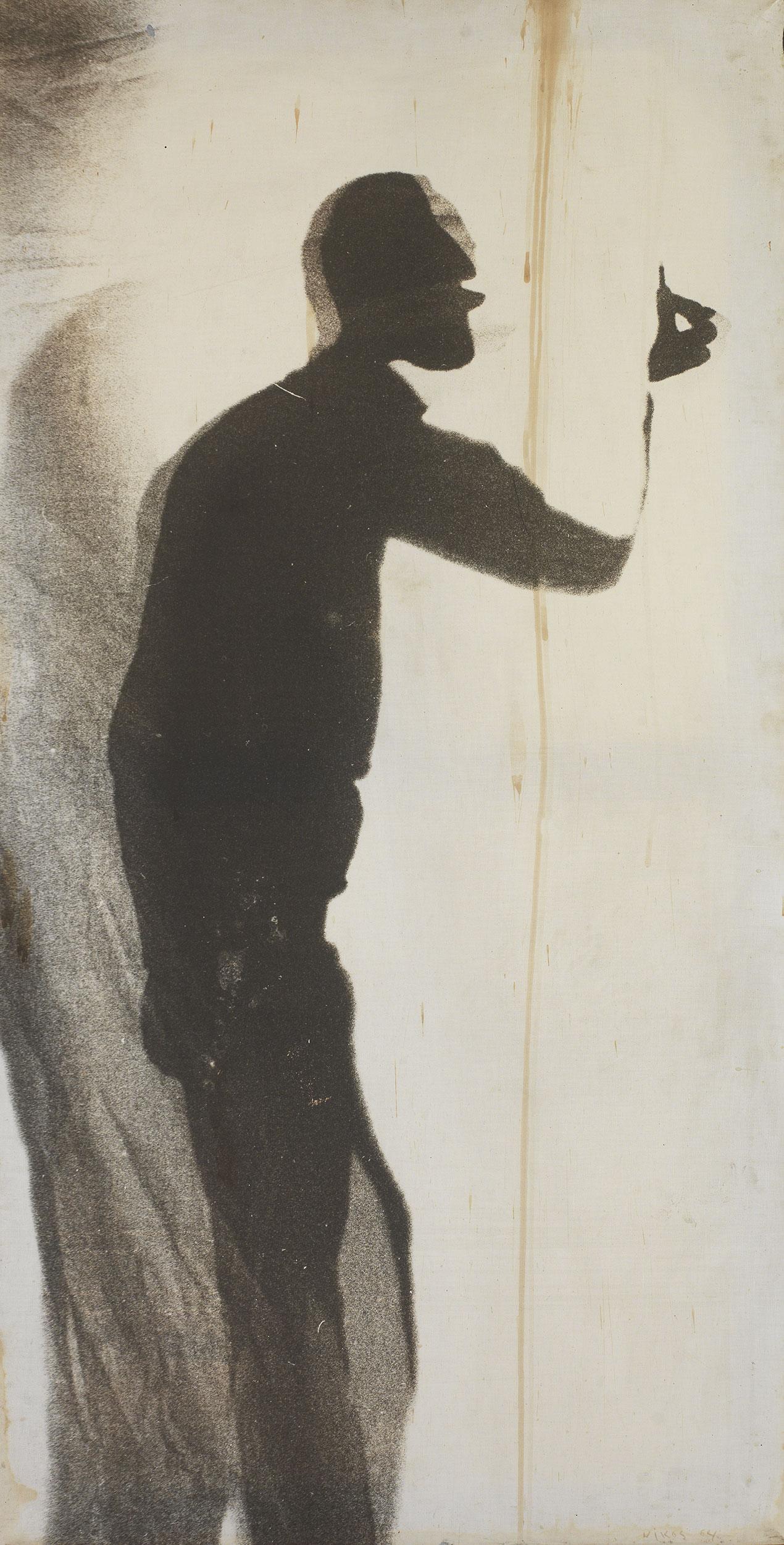 Nikos Kessanlis - The sculptor Chavignier