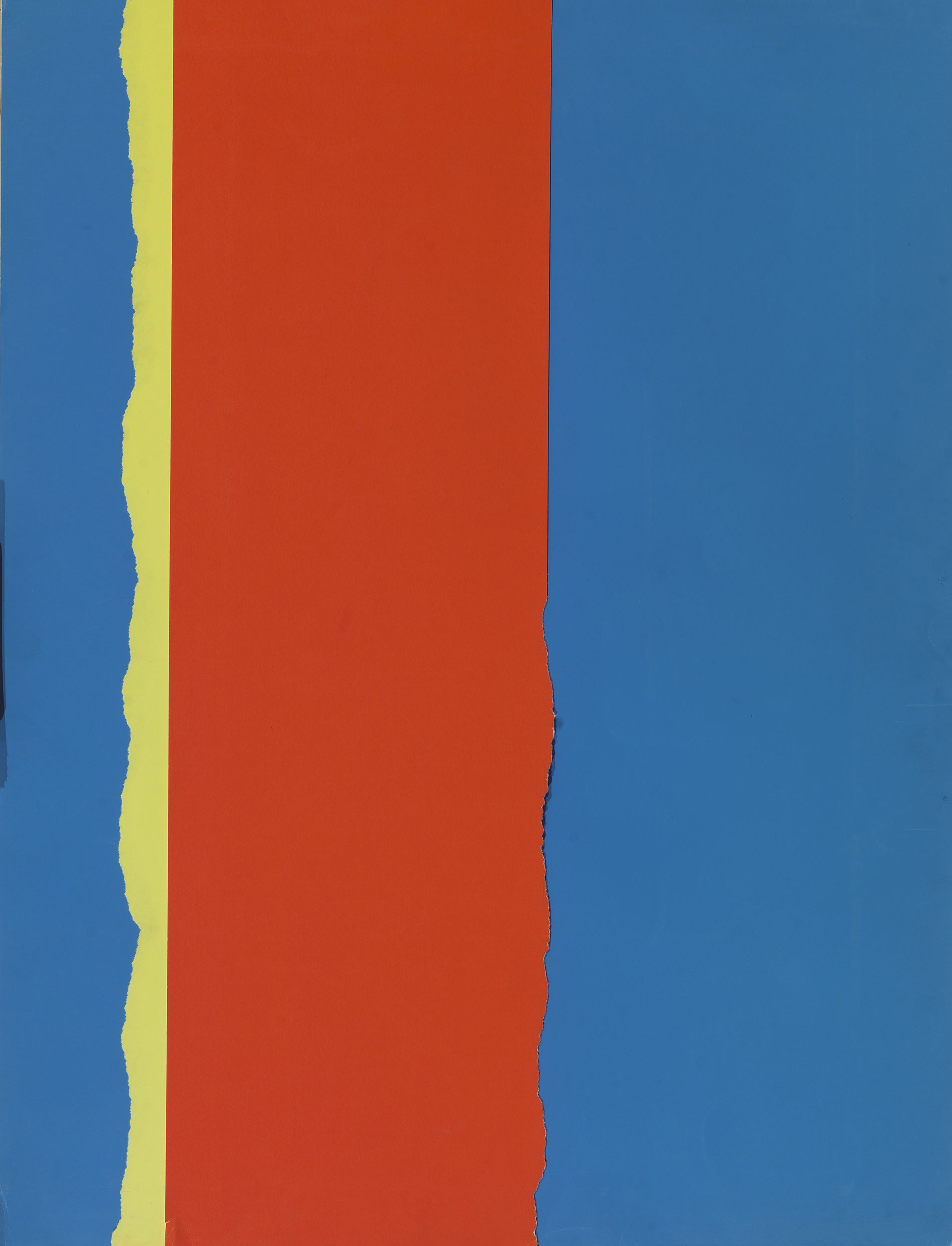 Stephen Antonakos - Untitled collage (JA#3) Berlin