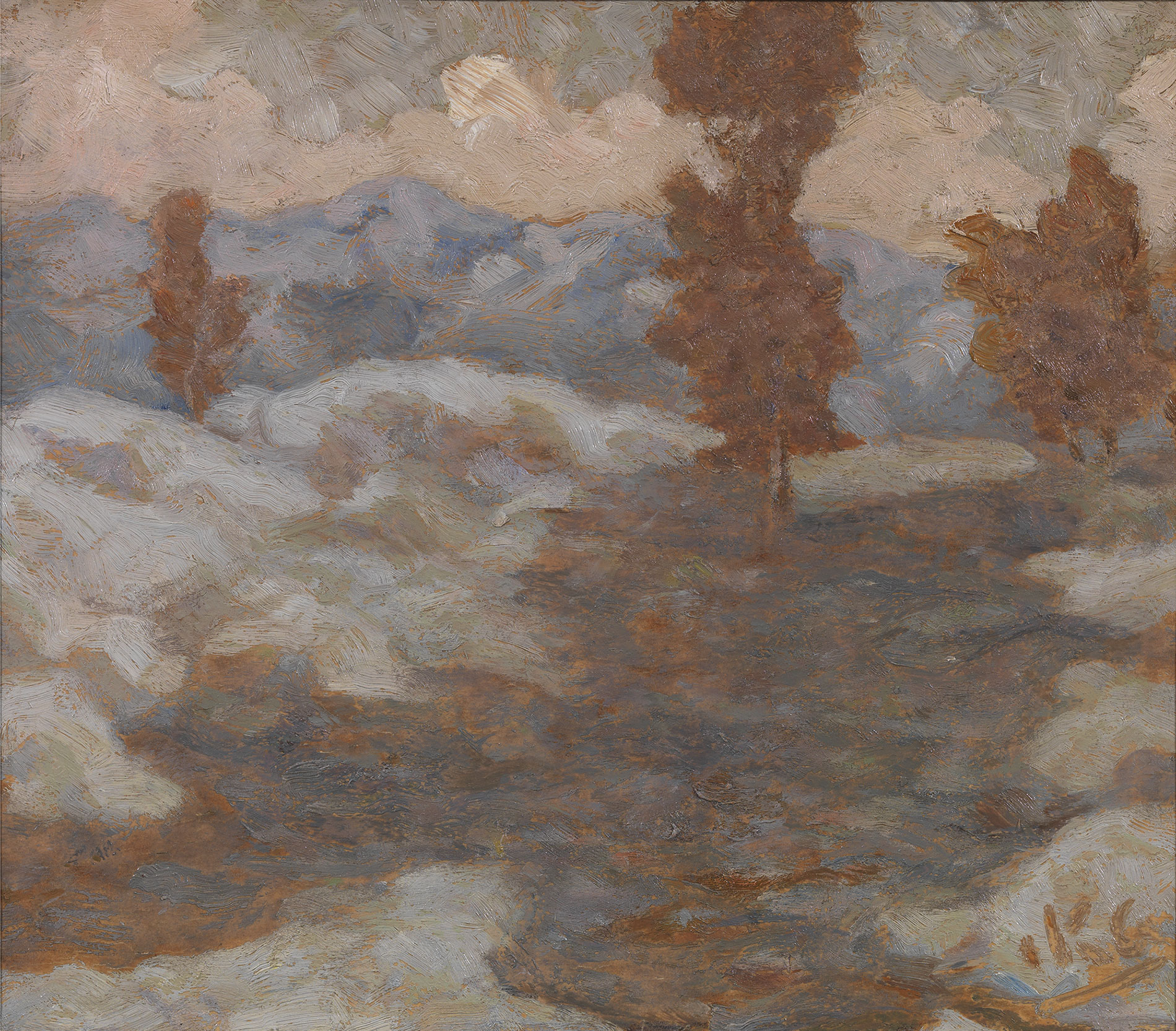 Nikolaos Othoneos - Winter landscape