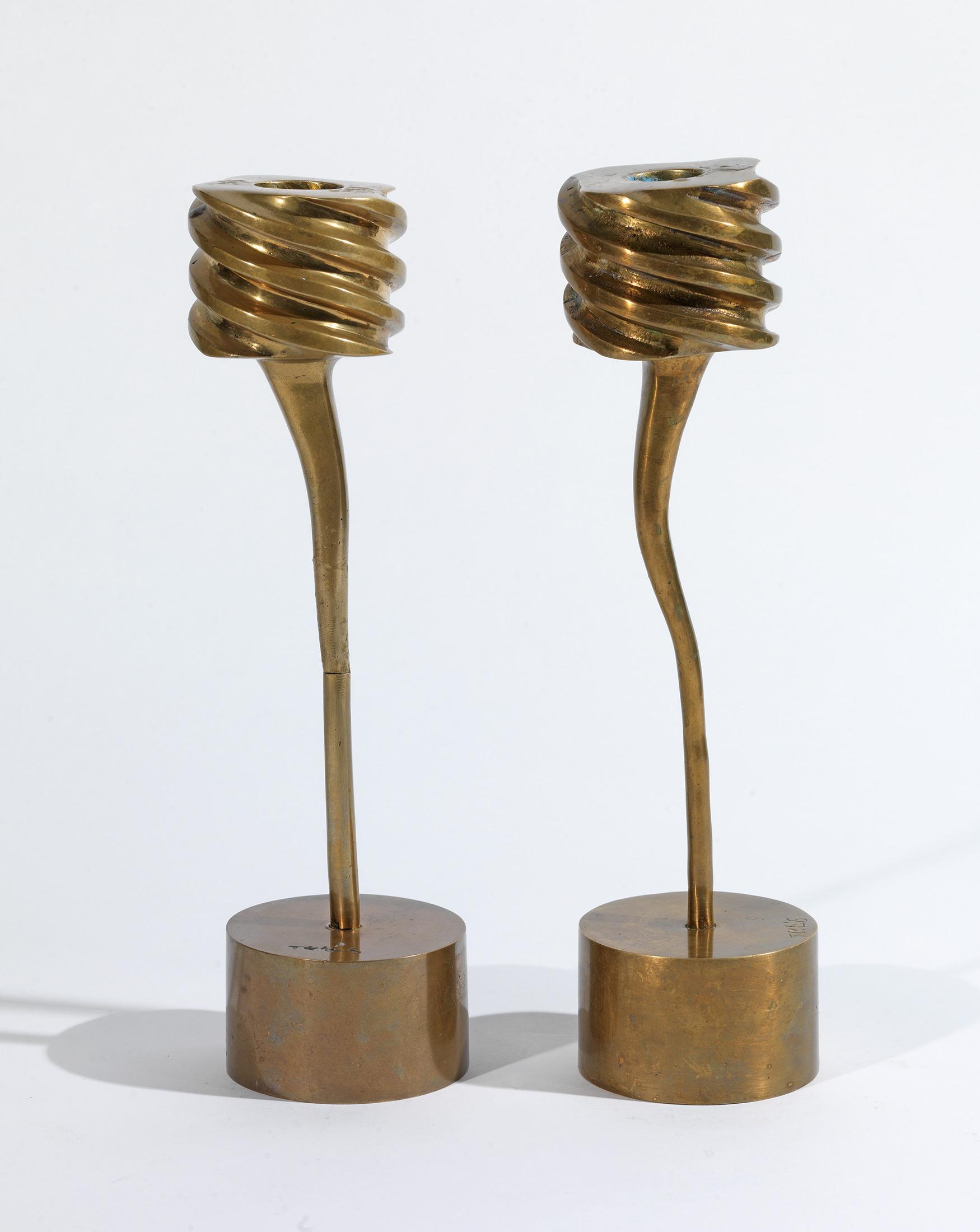 Takis - Pair of candlesticks