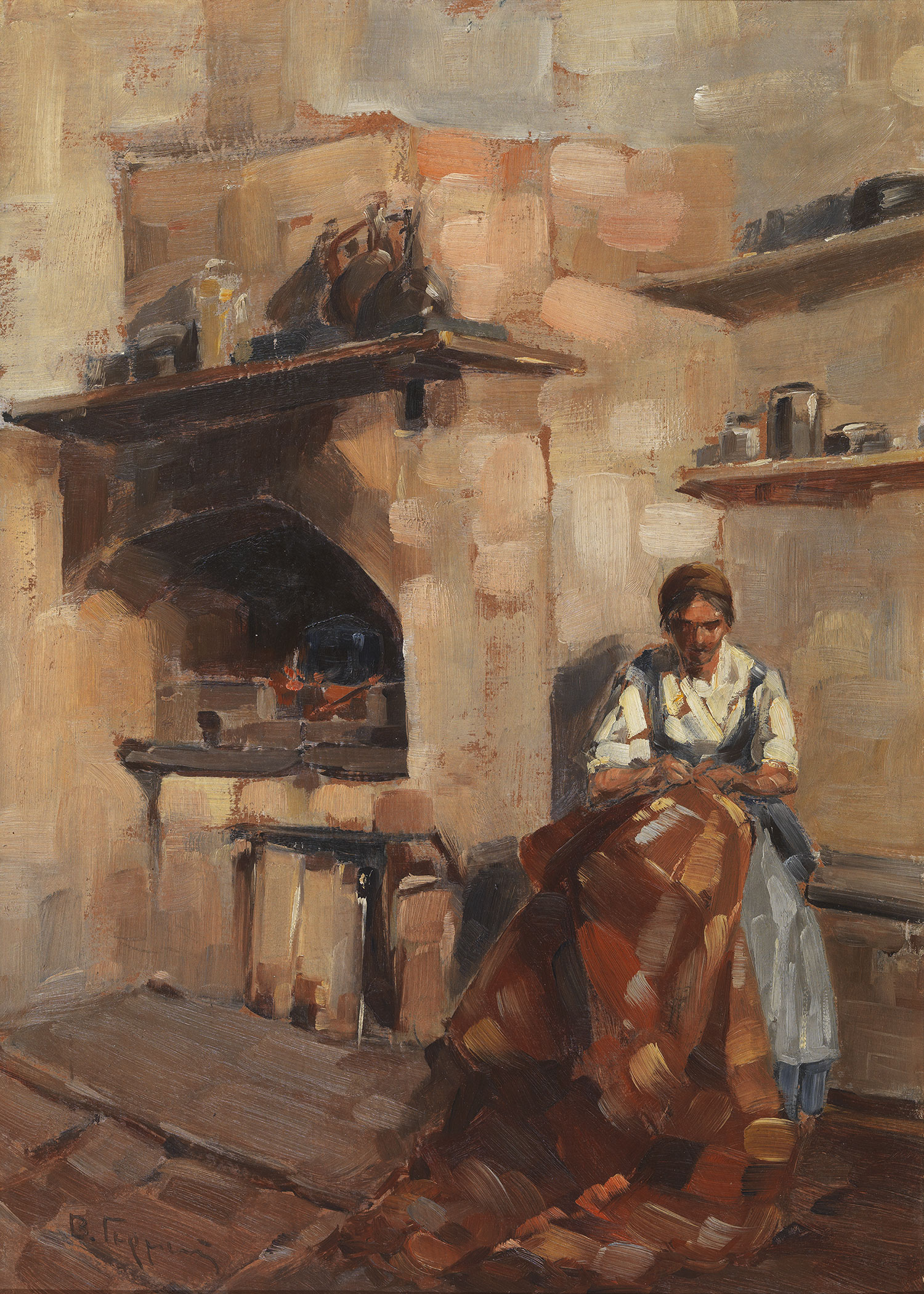 Vassilios Germenis | Mending the blanket