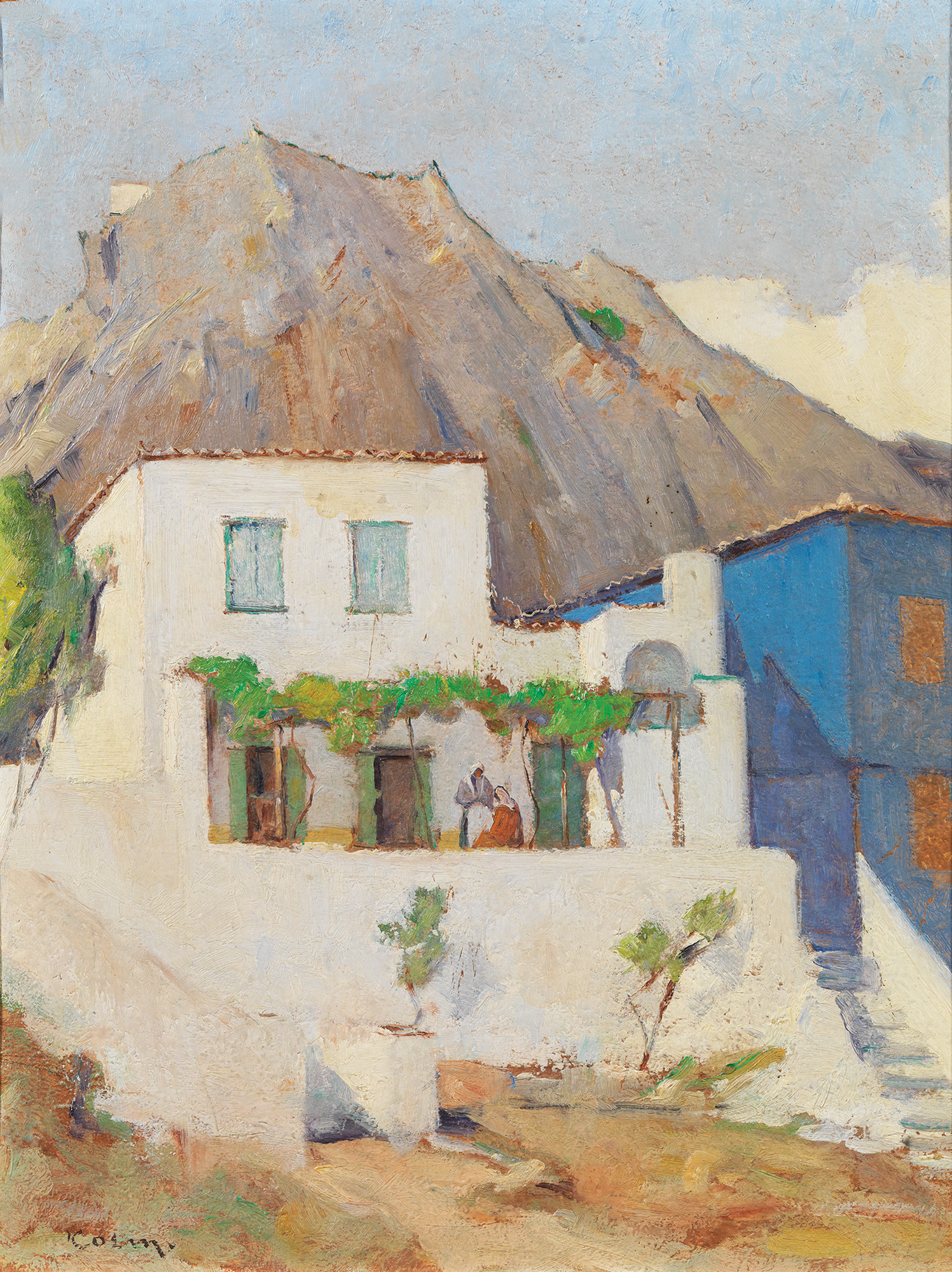 George Cosmadopoulos - House in Mykonos