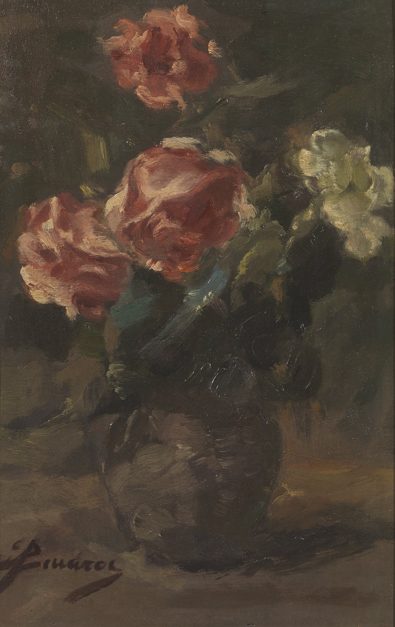 Spyridon Vicatos - Vase of flowers