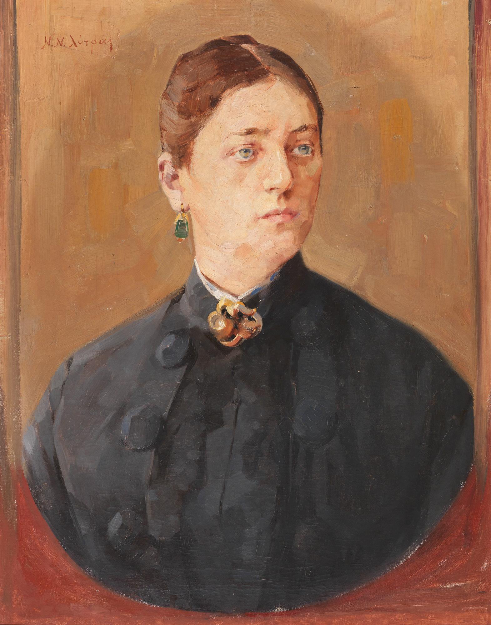 Nikolaos Lytras - Portrait of a lady