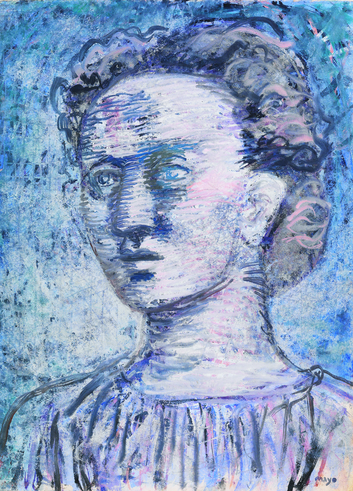 Antoine MAYO (Malliarakis) - Portrait of a young woman