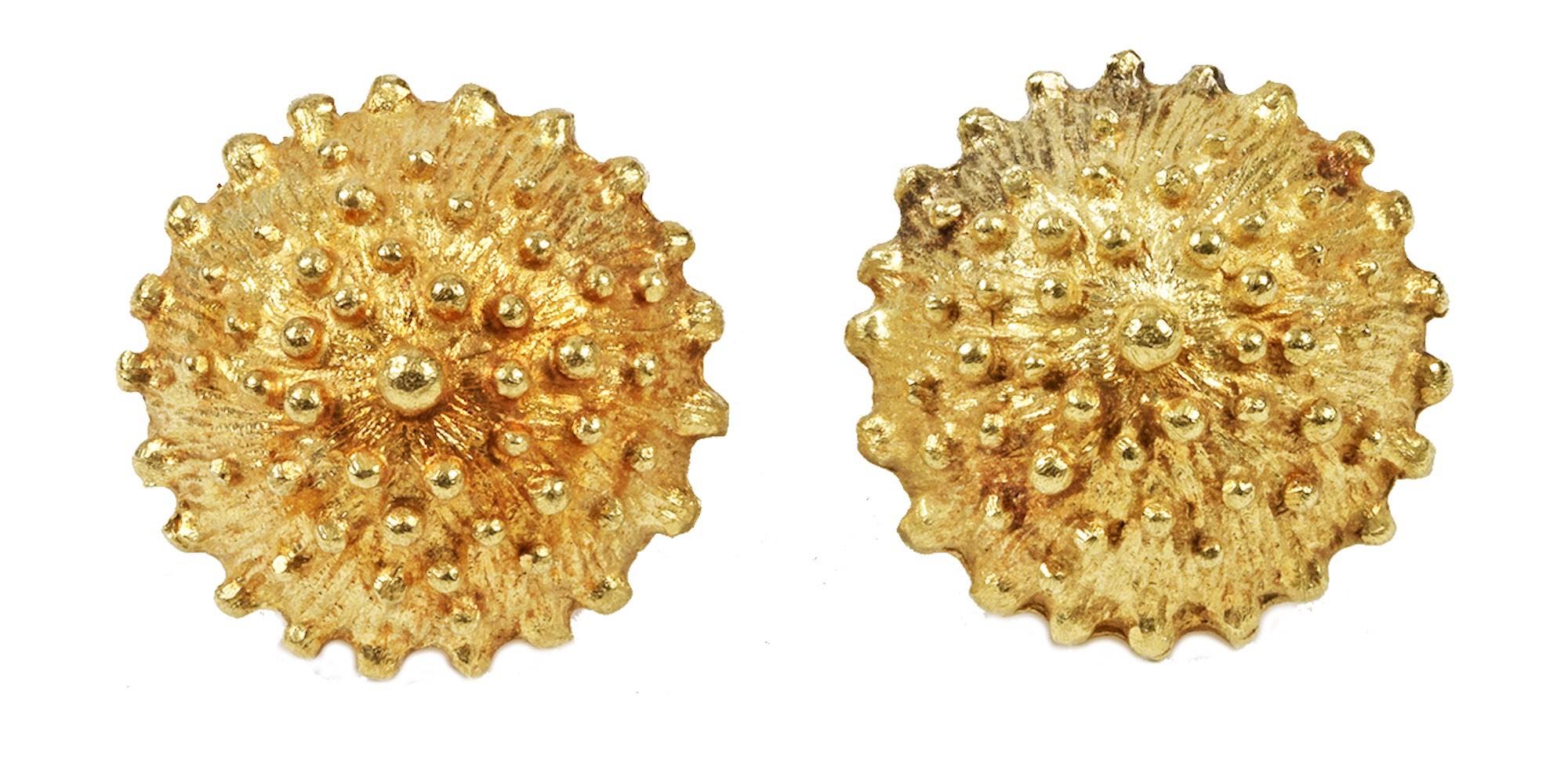 Ilias Lalaounis   Textured cufflinks