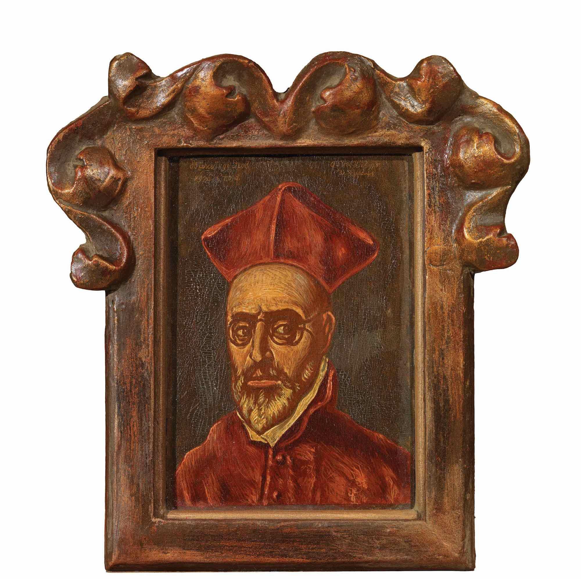 Fotis Kontoglou   Portrait of Cardinal Fernando Nino de Guevara
