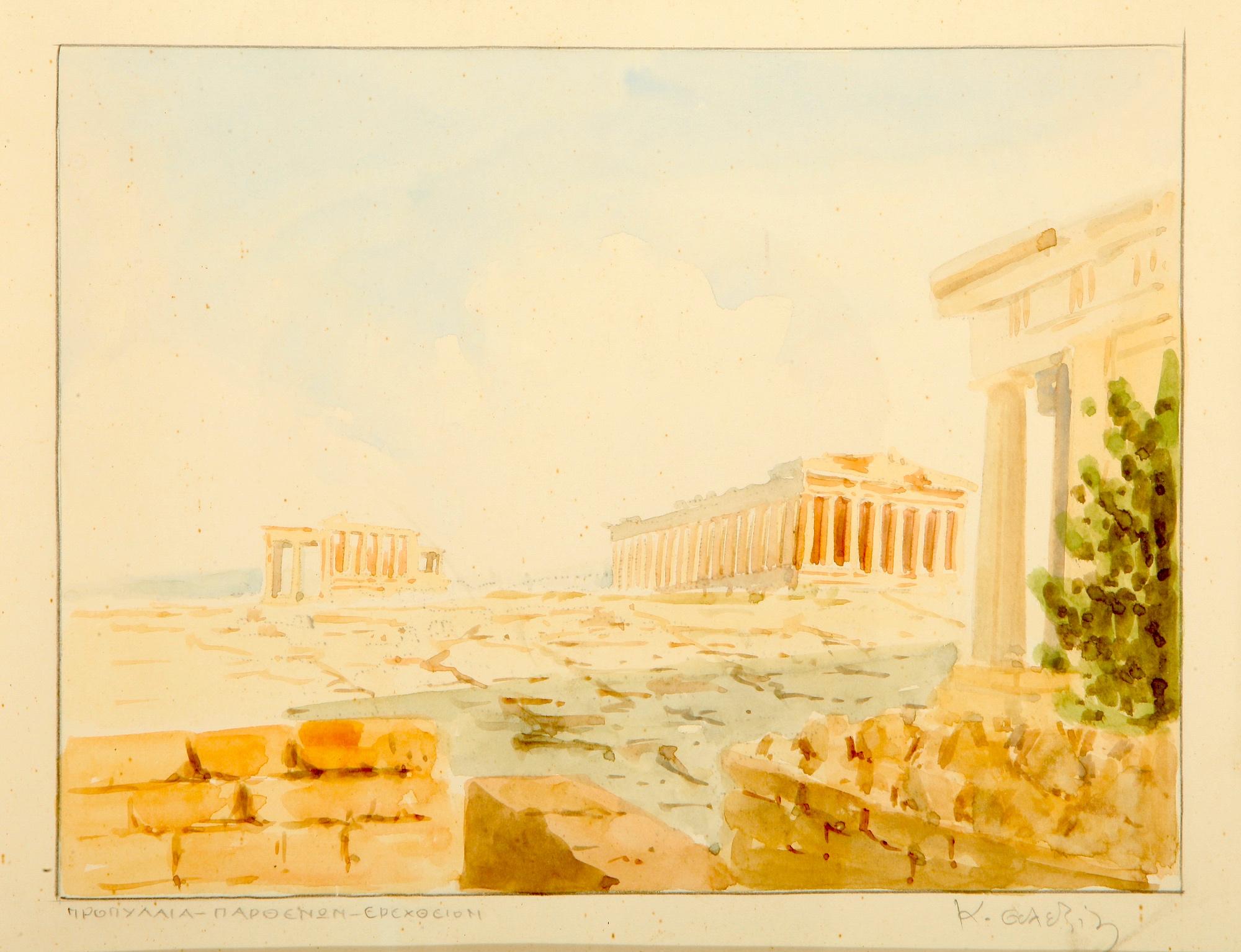 Costas Alexiou | Propylaea, Parthenon, Erechtheion