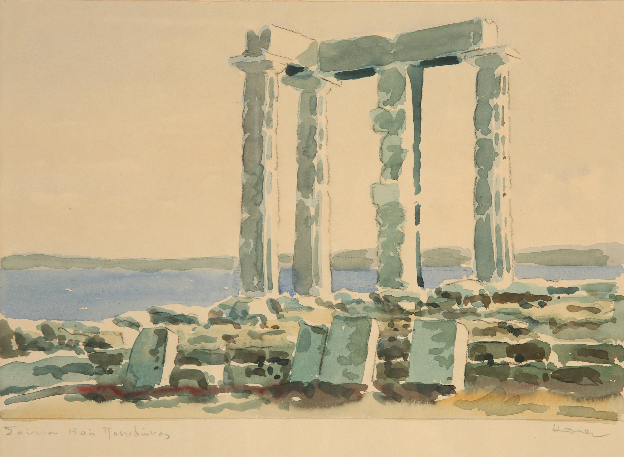 Costas Alexiou | Temple of Poseidon, Cape Sounio