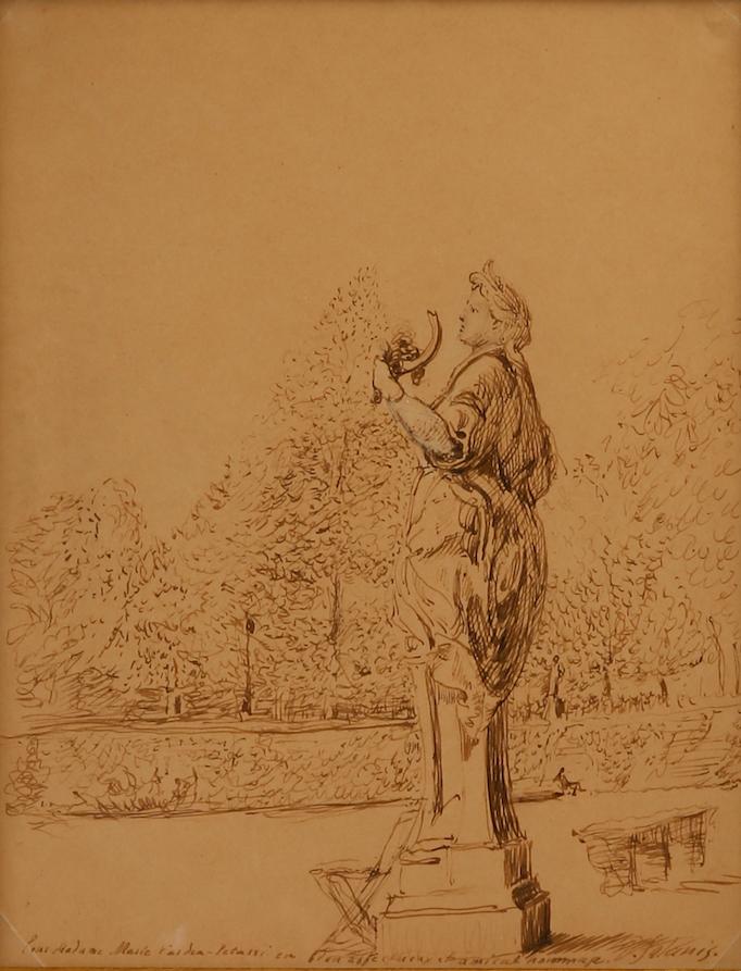 Dimitrios Galanis   Demetra, Goddess of Harvest, Tuileries garden a