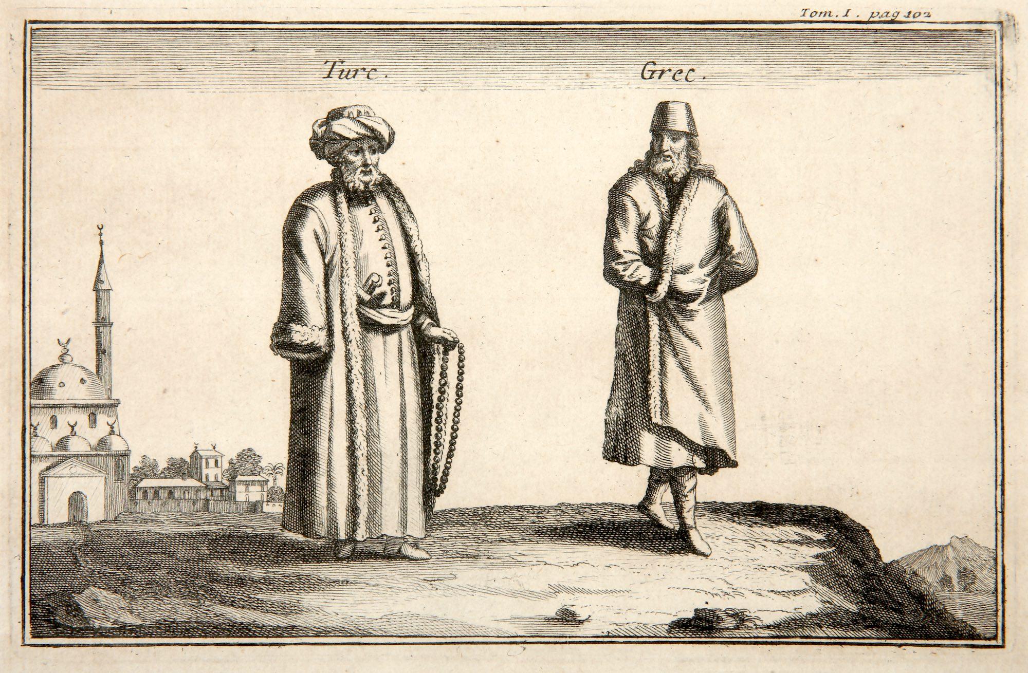 Joseph Pitton de Tournefort   Turc, Grec