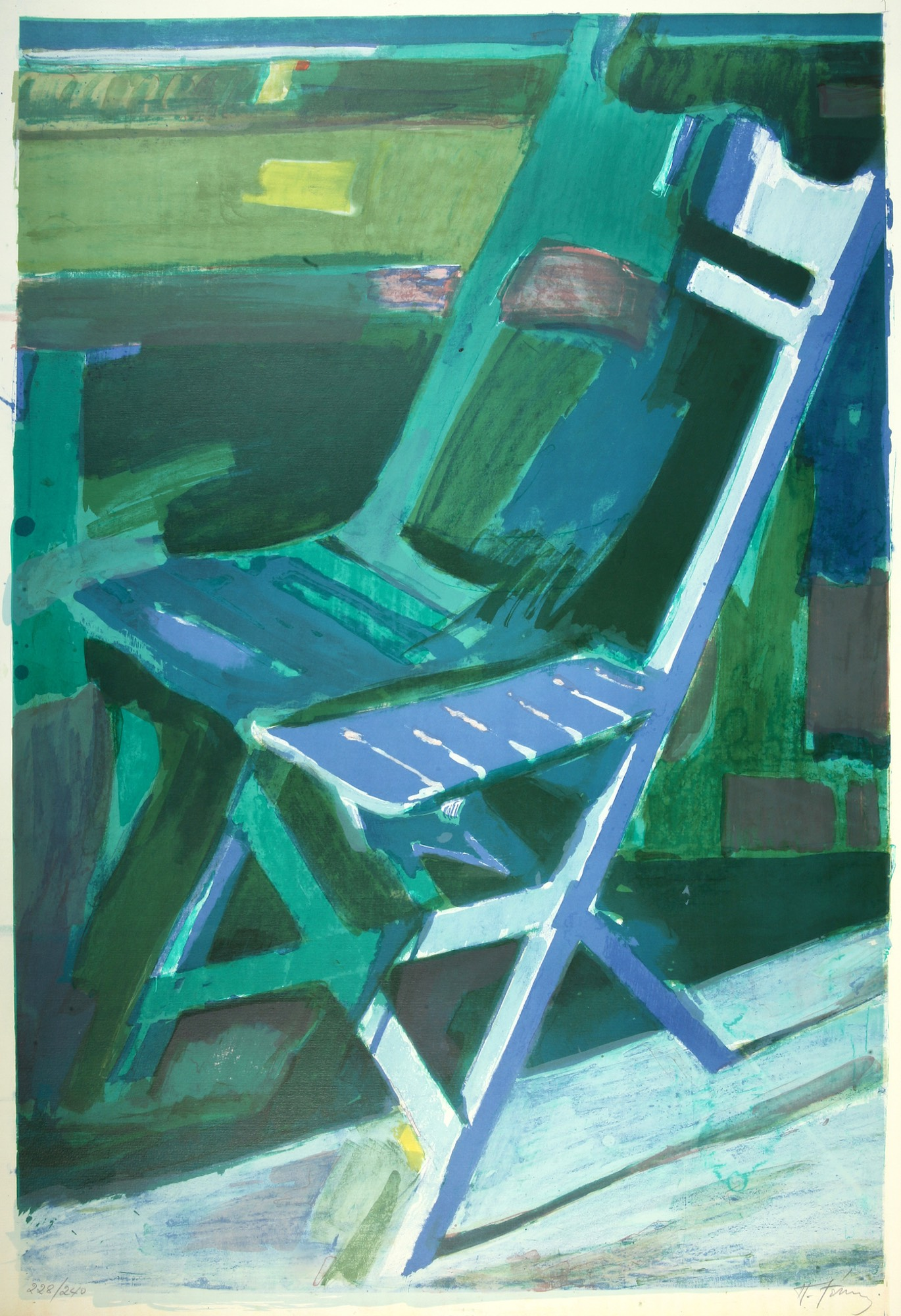Panagiotis Tetsis | Chair on balcony