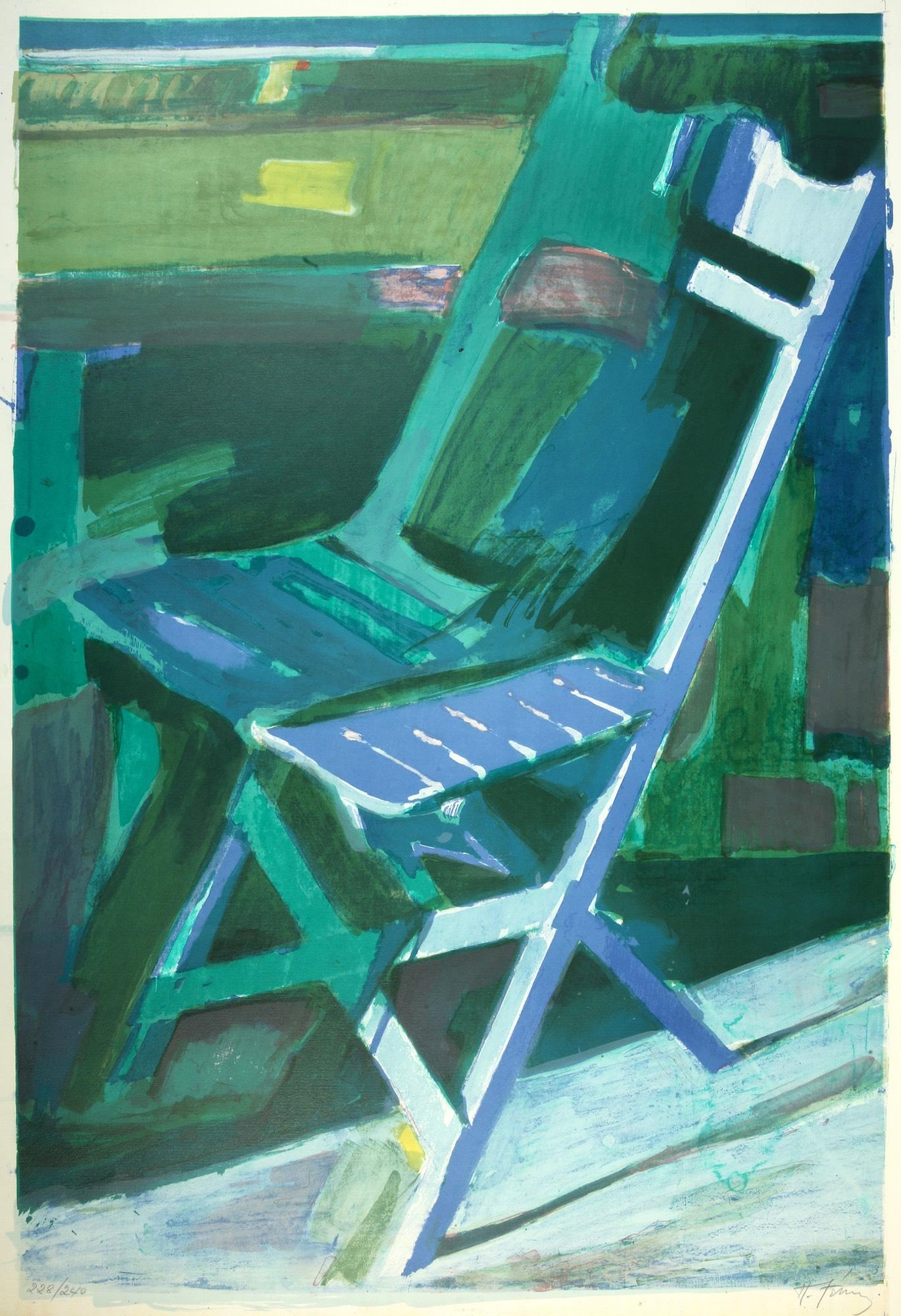 Panagiotis Tetsis | Chair on balcony