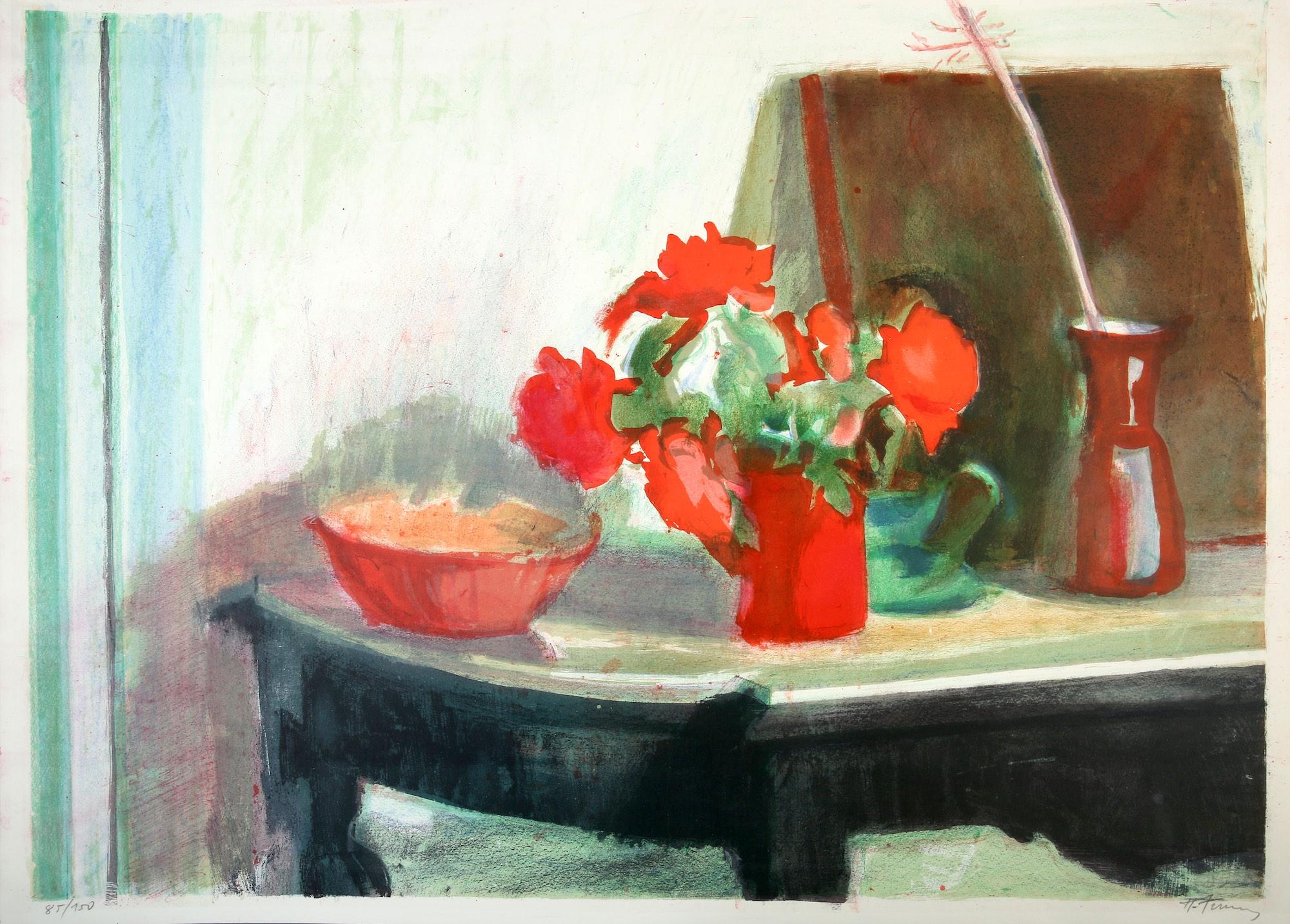 Panagiotis Tetsis | Still life with roses