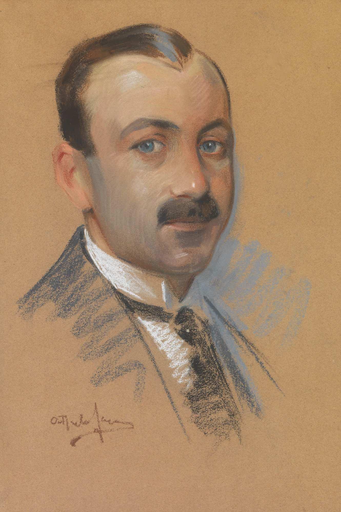 Lot 5 Othon PERVOLARAKIS   Portrait of Nikolaos Lytras