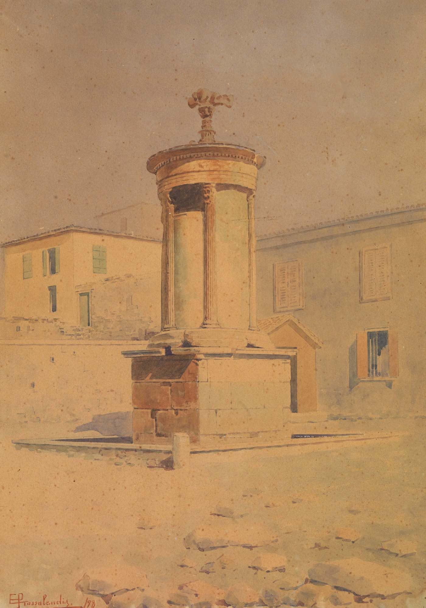 Lot 7 Emilios PROSSALENTIS   The monument of Lysicrates