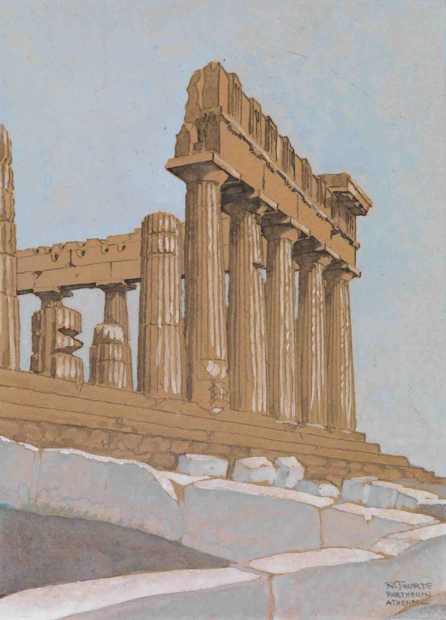 01. Roger Tourte | Parthenon