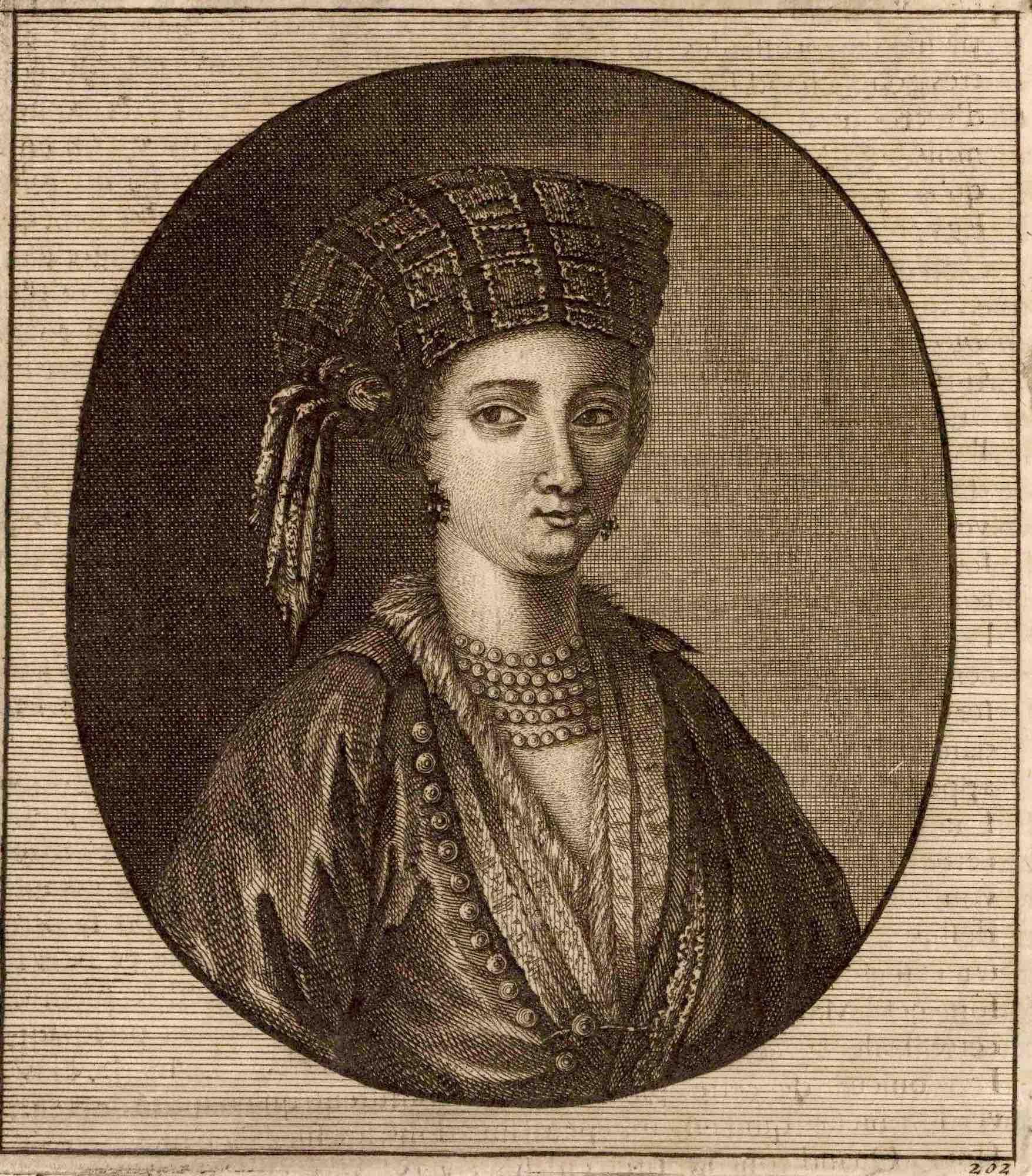06a. Cornelis De Bruyns   Cypriot woman