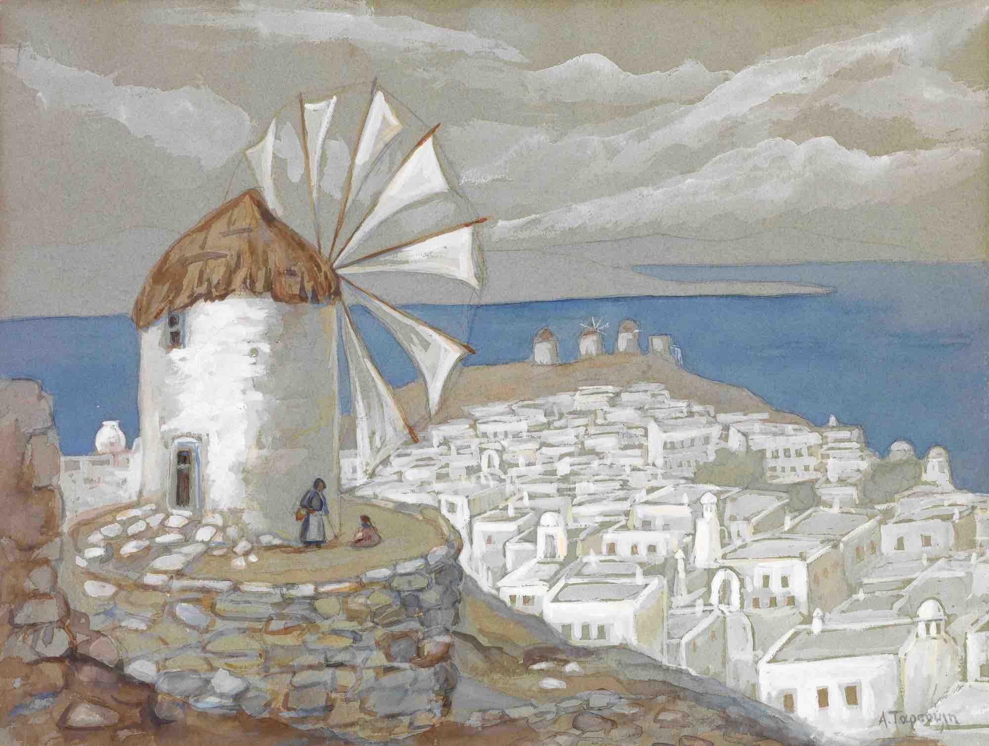 08. Athina Tarsouli   Mykonos