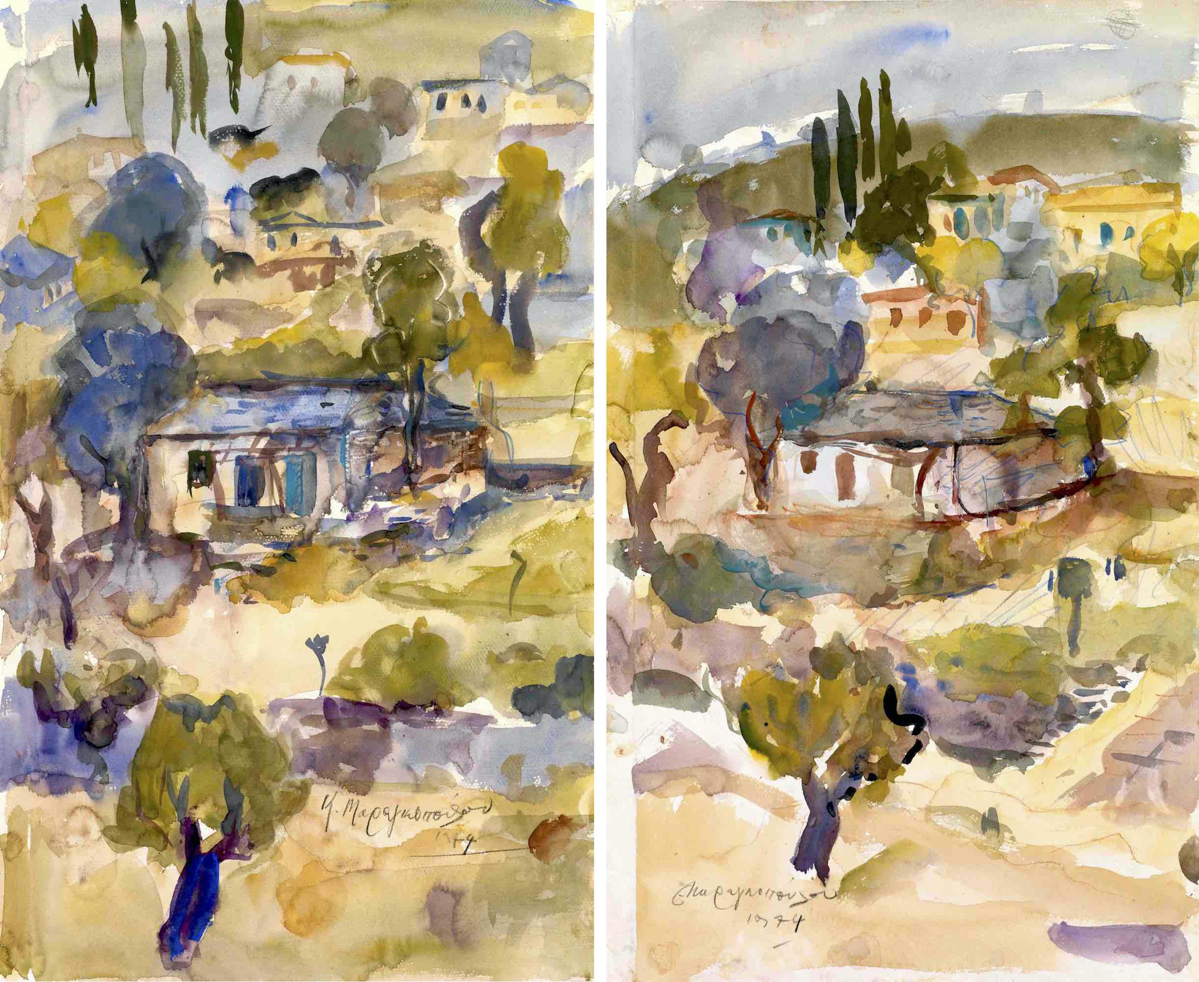 13. Koula Marangopoulou   Hillside village