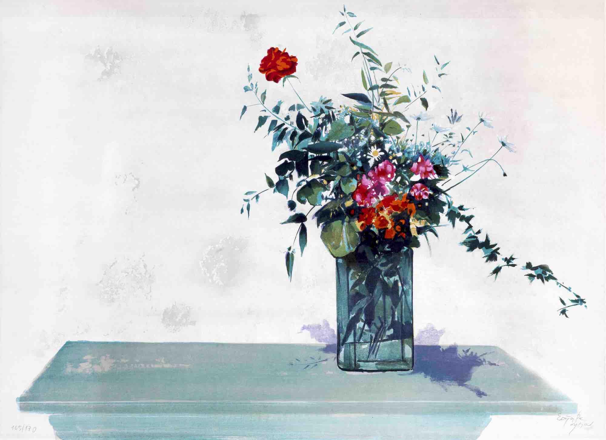 14. Spyros Vassiliou | Vase of flowers