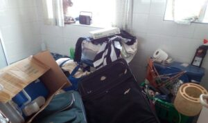 hoarded house clearance before