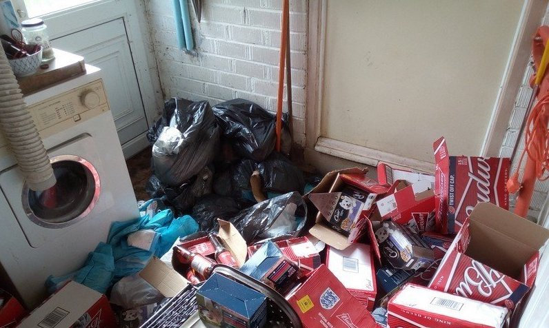 local house clearance before 16
