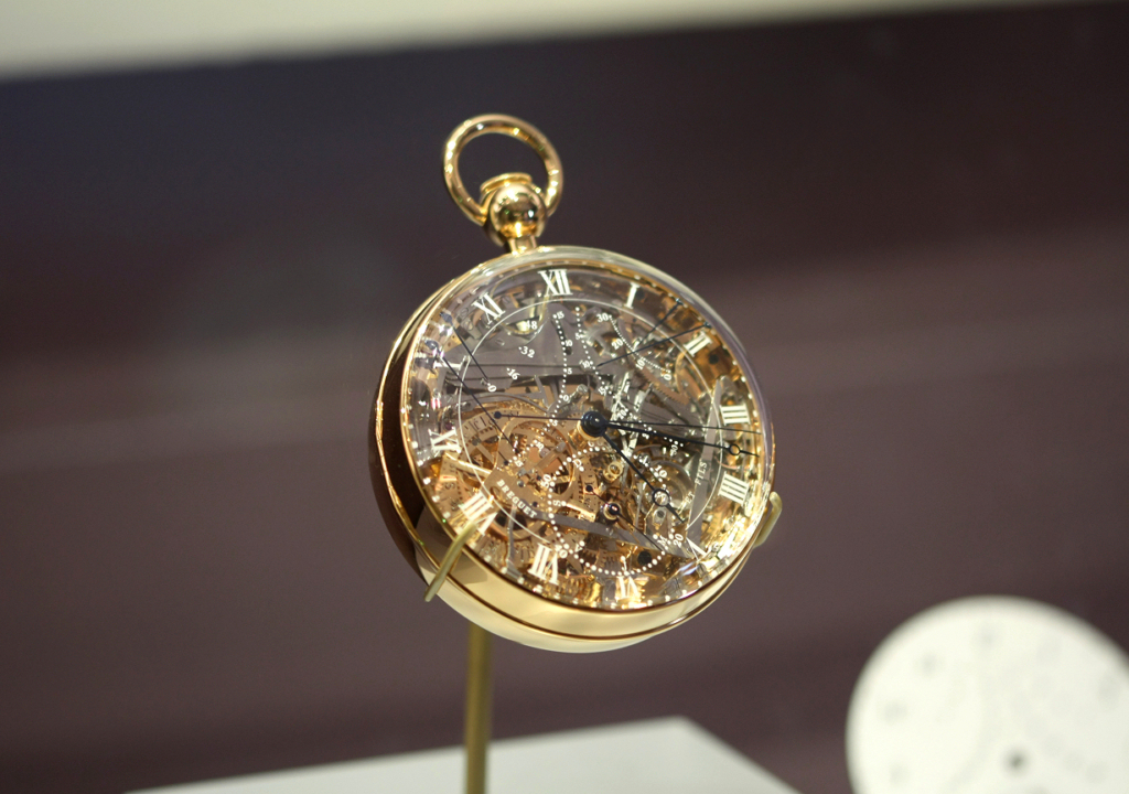 Breguet Grande Complication Marie-Antoinette Number 160
