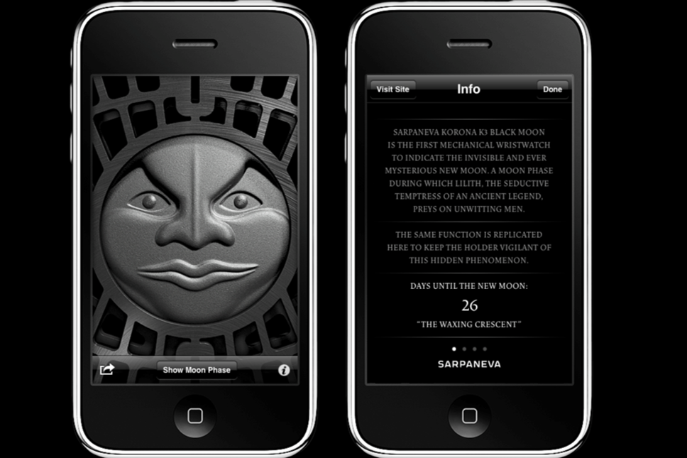 Sarpaneva Black Moon App