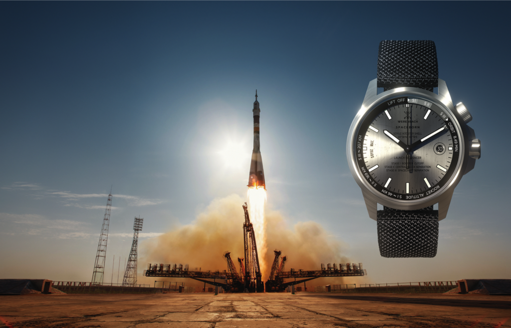 Watches Made Of Space Rockets