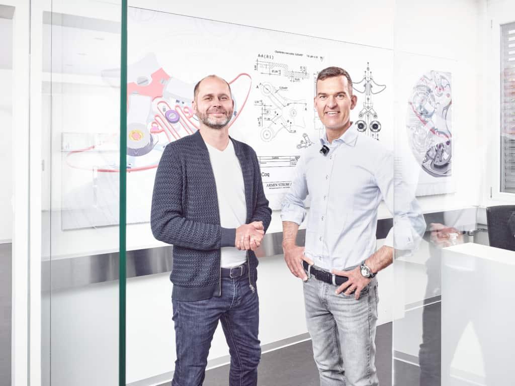 MrWatchMaster Meets…Serge Michel & Claude Greisler