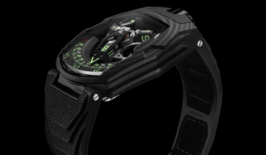 URWERK Takes Flight With The Falcon Project