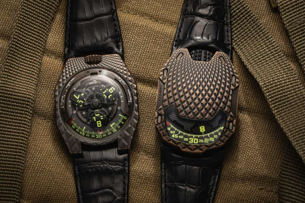 The New Beast From URWERK: UR-100V T-Rex