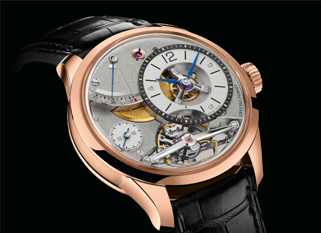 Red Gold Is The Colour For Greubel Forsey
